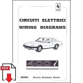 ML wiring diagrams ferrari 1983 400i 291 83 pdf 2 wiring diagrams pdf ferrari automobilia maranello literature ferrari 400i wiring diagram at bayanpartner.co