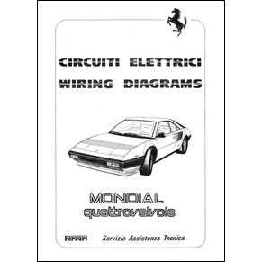 ferrari mondial 8 wiring diagram cars and motorcycles wiring schematic diagram. Black Bedroom Furniture Sets. Home Design Ideas